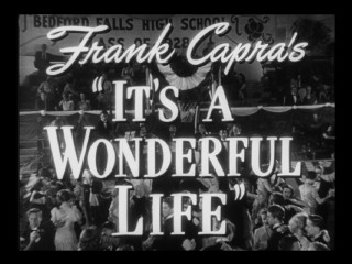 "The first title logo appearance in the ""It's a Wonderful Life"" theatrical trailer is original. The second is not."