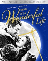 It's a Wonderful Life: 2-Disc Platinum Anniversary Edition Blu-ray cover art -- click to buy from Amazon.com