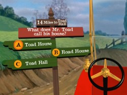 Mr. Toad's Wild Ride Game