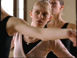 Eddie's daughter Laurel (Brittney Irvin) takes ballet classes.