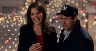 Katie Holmes plays Adam Sandler's converted wife Erin to virtually no effect.