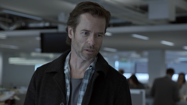 Guy Pearce plays criminal lawyer turned debt collector Jack Irish in the Australian noir television series bearing his name.
