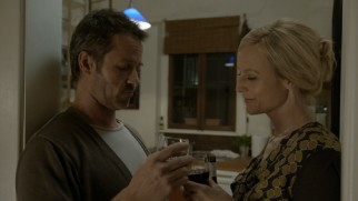 Radio journalist Linda Hillier (Marta Dusseldorp) is back in Jack's life, though he still struggles to get over his late wife.
