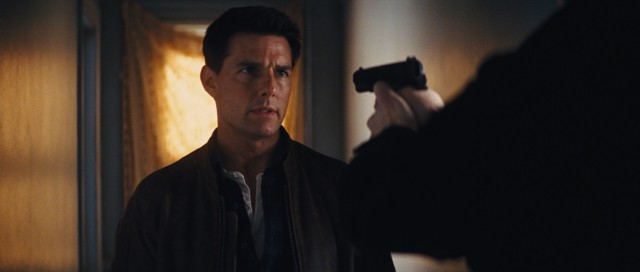 You're gonna need more than a gun to take down tall, blonde drifter Jack Reacher (Tom Cruise).