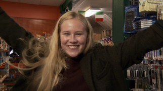 Danika Yarosh is clearly excited to be playing a character who could be Jack Reacher's daughter.
