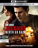 Jack Reacher: Never Go Back Blu-ray Disc cover art -- click to buy from Amazon.com