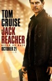 Jack Reacher: Never Go Back (2016) movie poster