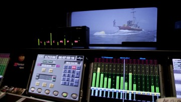 "We get a peek at the remixing performed for the Blu-ray's 7.1 DTS-HD master audio soundtrack in ""Jaws: The Restoration."""