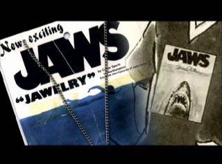 Jaws Jawelry (jewelry) features as part of the new documentary's section on the film's tie-in merchandise.