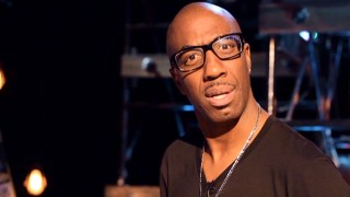 "JB Smoove dons horn-rimmed glasses in ""Behind the Smoove."""
