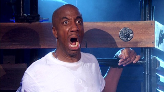 "In his finale, JB Smoove re-enacts scenes from ""King Kong"" with his swinging microphone representing the ape's heretofore unseen appendage."