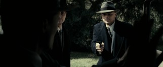 J. Edgar Hoover (Leonardo DiCaprio) becomes a hands-on man of action when it comes to the 1930s kidnap and murder of the Lindbergh baby.