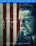 J. Edgar: Blu-ray + DVD + UltraViolet Digital Copy combo pack cover art -- click to buy from Amazon.com