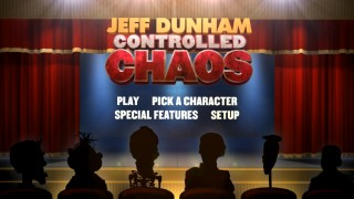 Jeff Dunham's characters are funnier on the Blu-ray's menus than they are in the special itself.