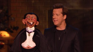 Jeff Dunham's redneck puppet Bubba J becomes The Tooth of the Vampire with one fang.