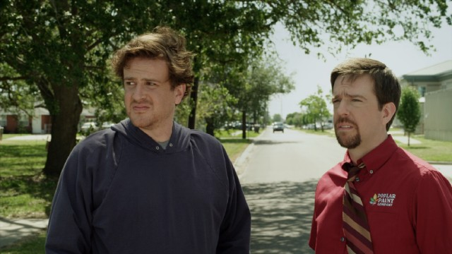 "Brothers Jeff (Jason Segel) and Pat (Ed Helms) go on an unusual adventure in ""Jeff, Who Lives at Home."""