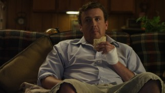 Jeff (Jason Segel) enjoys a satisfying Pop Tart at the end of his big day out.