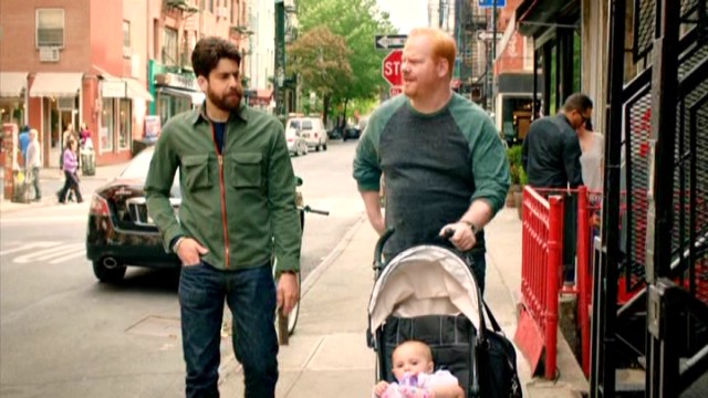 Jim's friendship with edgy womanizing fellow stand-up comic Dave Marks (Adam Goldberg) may not make sense, but it gives him someone to talk to and a reason to go outside for New York walk and talks.