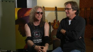 Waddy Wachtel talks mostly about his guitar and Danny Bramson listens in this short bonus interview.