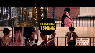 The theatrical trailer for Jimi: All Is By My Side sets the setting with a split-screen.