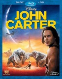 John Carter: Blu-ray + DVD cover art -- click to read our combo pack review