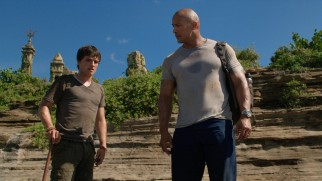 There's nothing quite like sweaty fantastic adventure to bond an uneasy stepfather-stepson relationship, as Sean (Josh Hutcherson) and Hank (Dwayne Johnson) find out.
