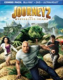 Journey 2: The Mysterious Island Blu-ray + DVD + UltraViolet combo pack cover art -- click to buy from Amazon.com