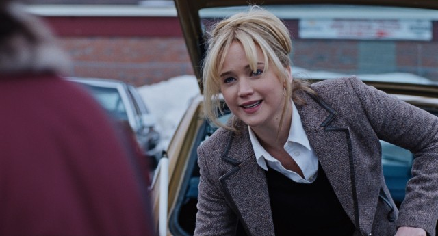 """Joy"" stars Jennifer Lawrence as a single mother who invents a miraculous mop and starts a business empire out of nothing more than an idea."