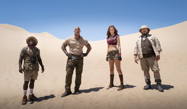 "The ""Jumanji: Welcome to the Jungle