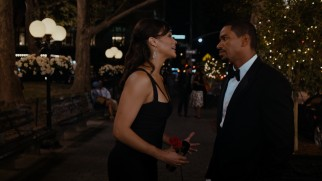 After Sabrina (Paula Patton) accepts a job in Peking, Jason (Laz Alonso) asks her to marry him.