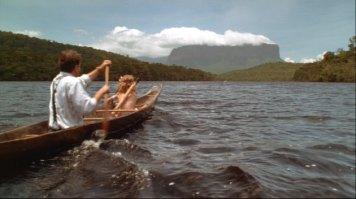 Michael and Mimi-Siku go for a canoe ride.