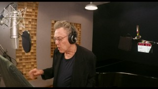 "Christopher Walken records the song ""I Wan'na Be Like You"" in one of the layers of ""King Louie's Temple."""
