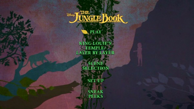 The Jungle Book (2016) Blu-ray 3D, Blu-ray & DVD Review ...