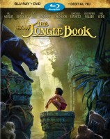 The Jungle Book (2016): Blu-ray + DVD + Digital HD combo pack cover art - click to buy from Amazon.com
