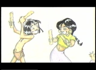"The deleted song ""I Got You Beat"" finds Mowgli and Shanti trying to one-up each other."