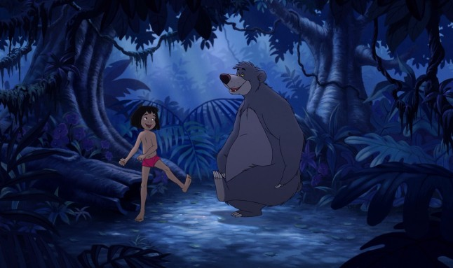 "Mowgli and Baloo are together again and living it up in ""The Jungle Book 2."""