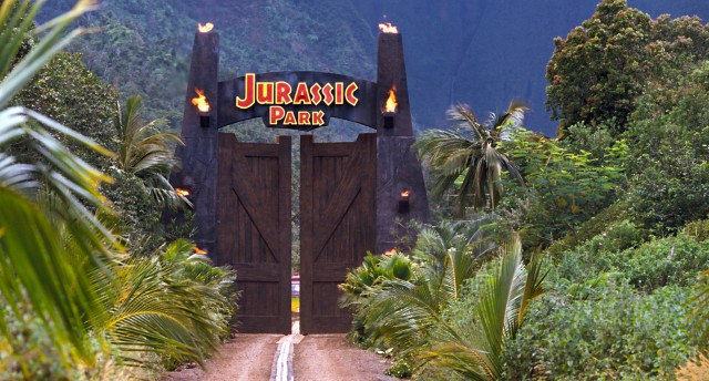 """What've they got in there? King Kong?"", posits Dr. Ian Malcolm at the gates of Jurassic Park."