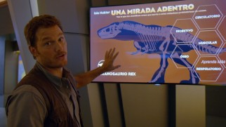 Chris Pratt gives a goofy tour of the Innovation Center out of character in this bonus feature.