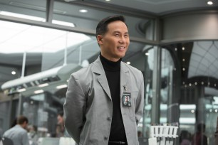 B.D. Wong's Dr. Henry Wu is the unlikely only character from this franchise to resurface.