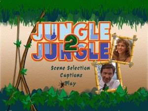 Jungle 2 Jungle Region 1 DVD main menu