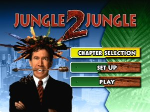 Jungle 2 Jungle Region 4 DVD main menu