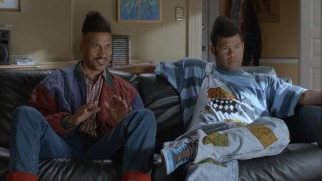 "Bar mitzvah party motivators Leonard ""Gafilta Fresh"" Jeffries (Keegan-Michael Key) and Marcus ""Dr. Dreidel"" Cunningham (Jordan Peele) discuss their calling in a documentary-style season finale sketch."