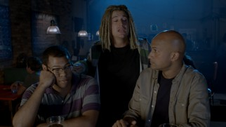 "A dreadlocked white ""Amistad"" fan (guest star Ken Marino) gets between two friends (Jordan Peele and Keegan-Michael Key) discussing ""Game of Thrones"" in this Season 1 bar sketch."
