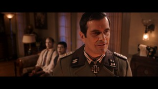 """Modern Family"" star Ty Burrell plays a Nazi colonel hunting for Jews and blacks in ""Das Negroes."""