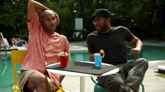 Key and Peele's poolside interview is itself a bit of a sketch.