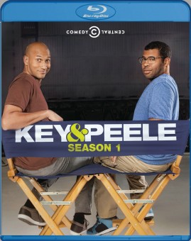 (K&P) Key and Peele: Season 1 Blu-ray cover art - click to buy from Amazon.com