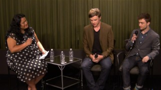 Dane DeHaan and Daniel Radcliffe answer a few questions from Jenelle Riley.