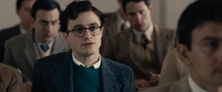 Freshman Allen Ginsberg (Daniel Radcliffe) questions his professor's teachings on poetry.