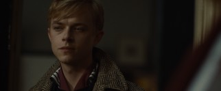 Blonde rebel Lucien Carr (Dane DeHaan) likes what he sees in Allen.