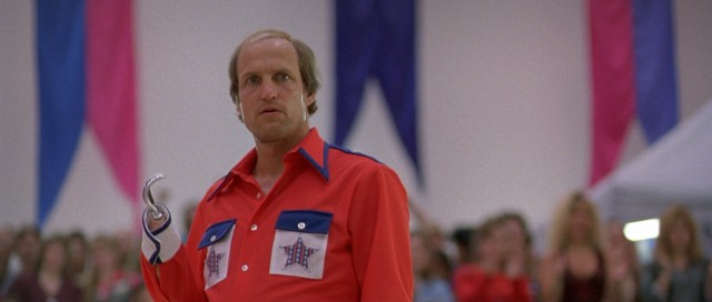 "The 1996 comedy ""Kingpin"" stars Woody Harrelson as Roy Munson, an Iowa state champion bowler who loses his hand."